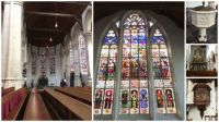 "Collage ""Old Church Delft"" (inside)"