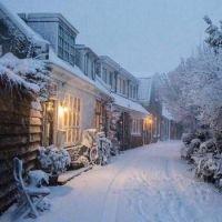 Nostalgic Winter Scene