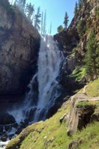 Osprey Falls, Yellowstone National Park