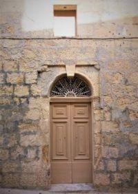 Light Brown Door