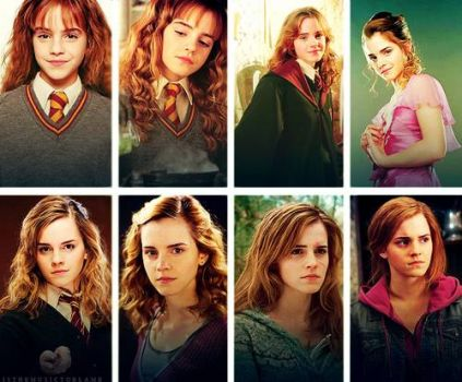 Hermione through the years