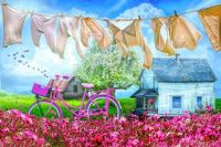 Laundry Day - Debra and Dave Vanderlaan