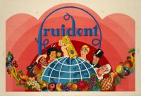 Themes Vintage ads - Fruident Toothpaste