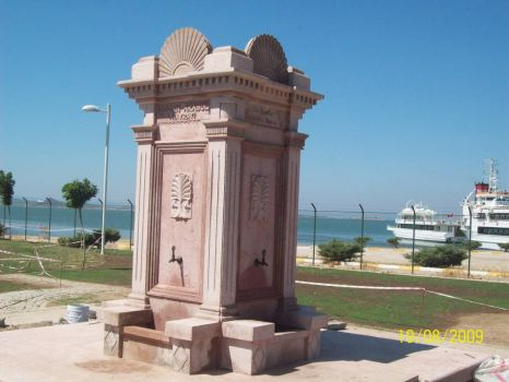 Fountain in Turkey, built for my dead husband