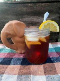 Iced Tea With an Elephant