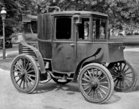 Riker Electric Automobile, ca. 1900
