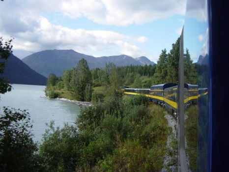 MOOSE PASS ALASKA  & tRAIN