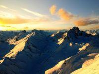 A Thousand Feet Above the Alps
