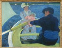 Mary Cassatt, The Boating Party