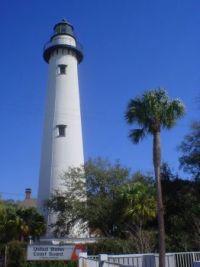 Lighthouse, St. Simon's Island, Georgia, USA