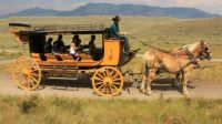 This was the best job ever! Stagecoach driver in Yellowstone