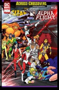 Alpha Flight vs Teen Titans