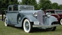1934 Lincoln Model KB Series 271 by Brunn Brougham Town Car Laundelette right