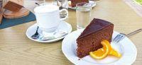 koffie en chocoladecake