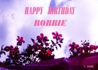 Happy Birthday, Robbie  (Porgy)