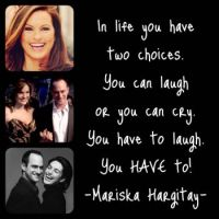 Mariska Hargitay - Famous Quote - Smaller
