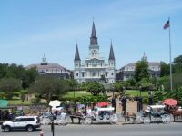 St. Louis Cathedral in New Orleans. LA