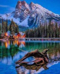 Emerald Lake Lodge, Yoho NP, Canada