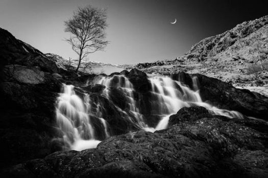 Evening-Waterfall