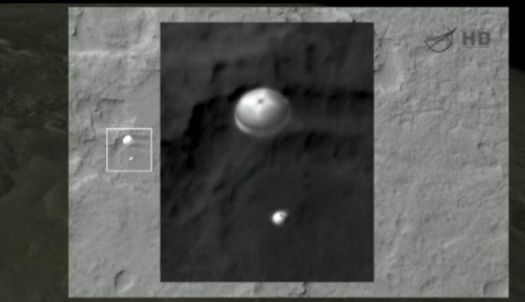 Curiosity lands on Mars!