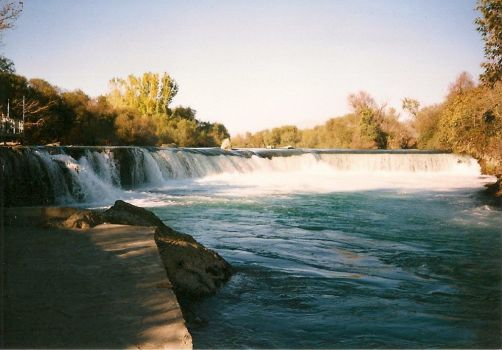 Turkey-Manavgat waterfall