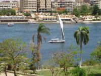 The Nile, Aswan.