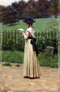 Edmund Blair Leighton - The Love Letter