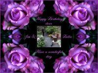 Happy Birthday dear Jim and Bella (Valt46's husband and cat)