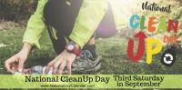 Today Is National Clean Up Day!!