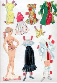 Paper Doll   Barbie