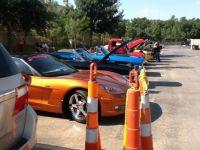 Colorful car show