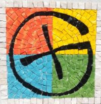 Geocaching mosaic