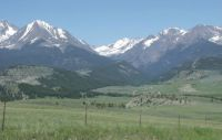 Crazy Mountains near Big Timber, Montana