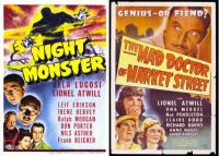 Night Monster ~ 1942 and The Mad Doctor of Market Street ~ 1942