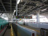 Shin Aomori station shinkansen platform