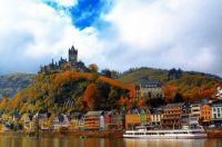 Castle Cochem Mosel in Autumn