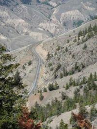 Fraser Canyon above Pavillion