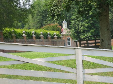Colonial Williamsburg Fences