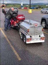 Spare Gas Tank