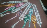 Tatting and bobbin lace