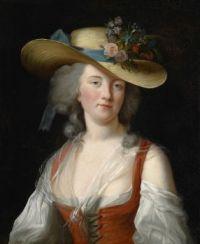 Louise Élisabeth Vigée Le Brun and workshop  Porträt der Anne Catherine Le Preudhomme de Châtenoy, Comtesse de Verdun 18th centu