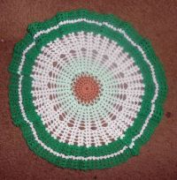 Little Green Doily