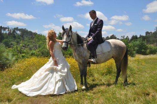 Prins op het witte paard.