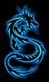 neon-dragon