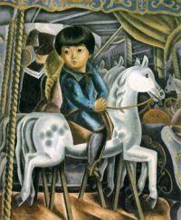 Toshi Shimizu (1887-1945) - Carrousel, 1925