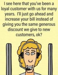 Loyal Customers Reward.. NOt