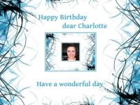 Happy Birthday dear Charlotte (Jigidi Facebook page and Stefan's wife)