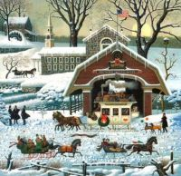 Twilight Before Christmas puzzle-sold for $324.99 on ebay!