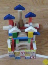 castle building with grandpa
