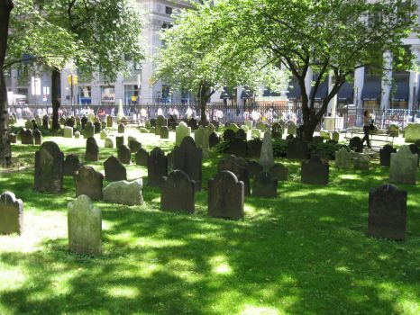 Tomb stones in NYC